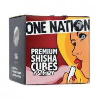 Charcoal for hookah ONE NATION 26mm 1kg