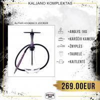 Kaljano komplektas ALPHA HOOKAH X Jocker