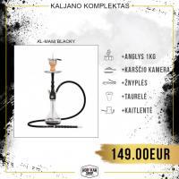 Kaljano komplektas AL-MANI Blacky