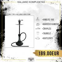 Kaljano komplektas AMY DELUXE Unio 006-01BK