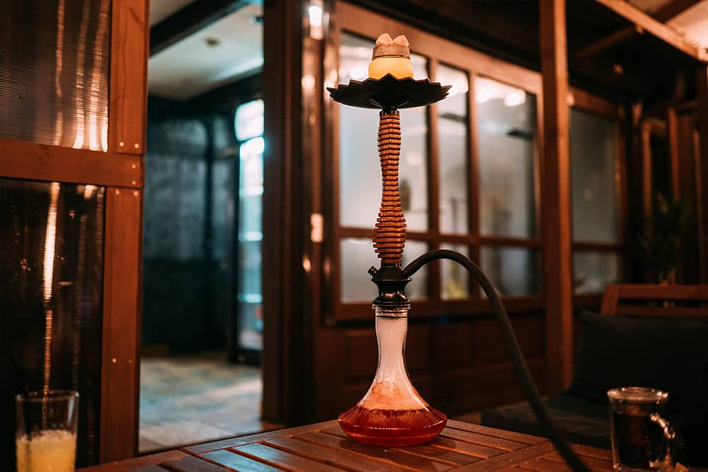 Hookah for a celebration or event